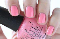 OPI New Orleans Suzi Nails New Orleans Pink Cream Nail Polish - Summer Nails