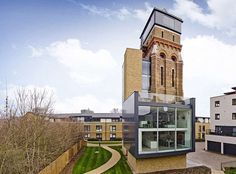 The converted Victorian water tower/south London.