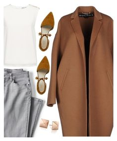 """""""act"""" by lovemelikeyourlast ❤ liked on Polyvore featuring Lands' End, Finders Keepers and Rochas"""