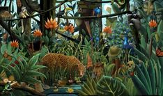 rousseau paintings images - Google Search