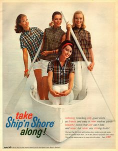 Wherever you go this summer, be sure to take Ship 'n Shore along.