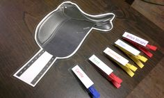 Here's something super easy I made quickly before today's lesson: The Saddle Parts Game Prep: Print and cut out a picture of a saddle (cardstock works best) Print and cut out words of saddle parts Laminate them and cut them out Hot glue the words to clothespins (Or if you have wood clothespins just write … Continue reading →