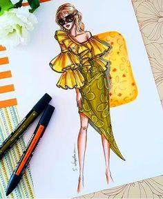 Dress Design Sketches, Fashion Design Drawings, Fashion Sketches, Fashion Drawing Dresses, Fashion Illustration Dresses, Fashion Sketchbook, Top Model Fashion, Fashion Show Themes, Arte Fashion
