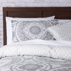 Mercury Row Braden Medallion Duvet Cover Set & Reviews | Wayfair