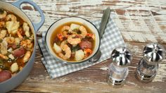 Gulf Coast Seafood Stew: Hurricane Katrina and a subsequent oil spill off the coast of Louisiana resulted in a renewed appreciation for the region's seafood. This stew shows off its incomparable flavors, colors, and beauty.