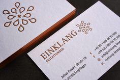 Drucktechnik: Letterpress Veredelung: Farbschnitt Papier: Colorplan weiß 700 g/qm Gestaltung: @vierdimensional werbeagentur