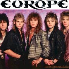1979, Europe, Upplands Väsby, Stockholm, Sweden #europeband #Upplands  (979)