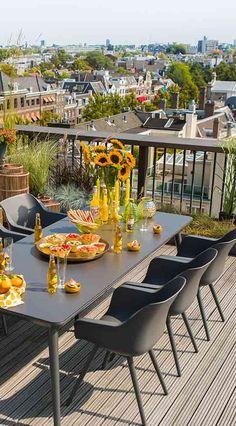 Gartenstuhl In Modernem Design | Moderner Schalensessel In Der Farbe  Anthrazitfür Den Garten | Hartman Sophie
