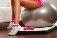 A balance ball--an inflatable ball available from sports retailers in small, medium and large sizes--is a useful additional piece of exercise equipment in a horseback rider's fitness training program. The instability of the balance ball replicates the constant, varying movements of the horse, keeping fitness training exercises specific to the...