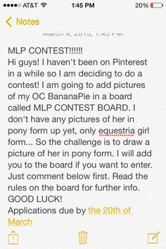 Here is the intro! For rules look at the description for the board!!!