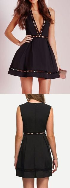black Homecoming Dress,Sweet 16 Dress,lace homecoming dresses, cute backless party dresses for teens