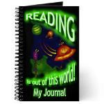 Reading Journal- Reading is Out of this World! 100 Days Of School, School Fun, Back To School, Reading Journals, School Signs, My Journal, 100th Day, Teacher Appreciation, Teacher Gifts
