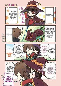 Megumin and Kazuma