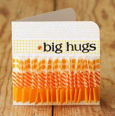 Handmade card using Washi Tape