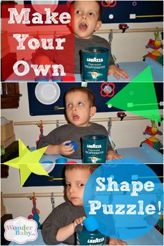We love our can puzzle - a simple one shape puzzle for beginners