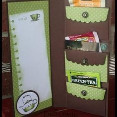 """Gift Wallet Pocket""...card craft to mail.  Great idea!"