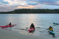 Sea kayaking in the Pacific Ocean off the coast of Costa Rica almost got me killed, but it was truly a grand adventure!