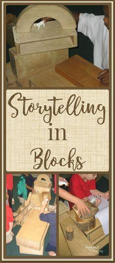 Storytelling in Blöcken - Fairy Dust Teaching - Literacy - Kindergarten