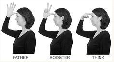 Example of RHYMING in SIGN LANGUAGE (ASL) - the one phoneme difference here is the handshape vs 3 vs but all other parameters are identical: location, movement, palm orientation. Sign Language Phrases, Sign Language Alphabet, Learn Sign Language, Learning A Second Language, Learning Asl, Language Lessons, Foreign Language, Teaching, Deaf Sign