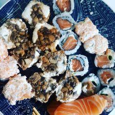 Almoço de domingo.  #sushi  #food