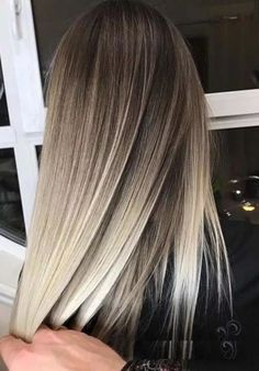 Best balayage hair color mixes for women in 2019 - # # . - Best balayage hair color blends for women in 2019 - Hair Color Highlights, Ombre Hair Color, Hair Color Balayage, Cool Hair Color, Balayage Ombre Blonde, Highlights For Short Hair, Highlights For Brunettes, Hair Colour Ideas, Haircolor
