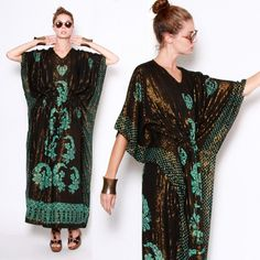 Gorgeous Monica Rich Kossan caftan dress.  I would look like a mayan princess.  All I need is the appropriate quetzal feathered headgear and an obsidian knife.