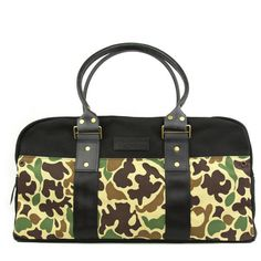 WHEELMEN AND COMPANY SCOUT SERIES WOODSMAN DUFFEL BAG | available @ https://raiment-cycling-clothing.myshopify.com/collections/wheelmen-and-company/products/woodsman-duffel
