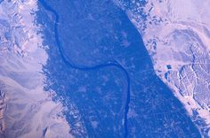 André Kuipers captured this incredible view of the Nile River in northeastern Africa on March 10, 2012.