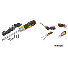 Find Stanley FatMax Pistol Grip Ratchet Screwdriver With 12 Bits at Bunnings Warehouse. Visit your local store for the widest range of tools products.