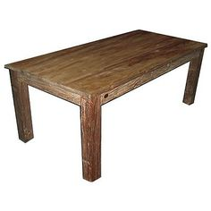 A další varianta masivního stolu Teak, Dining Bench, Country, Furniture, Home Decor, Dining Room Bench, Decoration Home, Rural Area, Room Decor