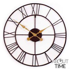 Open Antieke Metalen Tuinklok - 76cm - About Time™ €79,99