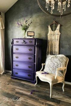 Why I'm Not Scared of Bright Colors on a Statement Piece dododsondesigns blackwax brightcolors boldcolors paintedfurniture furnituremakeover paintedfurnitureideas