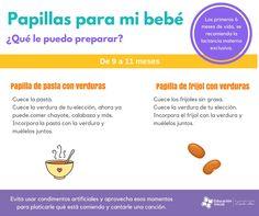 Si has decidido empezar a ofrecer alimentos a tu bebé rte presentamos algunas recomendaciones... http://educacioninicial.mx/guias/  #Comida #Bebe #Papillas