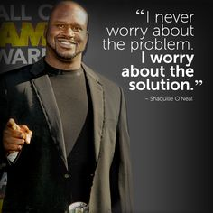 #inspirational #quote by Shaquille O'Neal #fitspiration