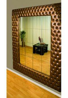 Hall, espejo decorativo 1.80 x 1.80 $ 550 Quito Wall Design, House Design, Wainscoting Hallway, Booth Seating, Living Room Decor Cozy, Wood Sofa, Master Bedroom Design, Living Room Designs, Upholstery