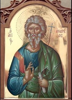 Byzantine Icons, St Andrews, Orthodox Icons, Religious Art, Art And Architecture, Saints, Princess Zelda, Cyprus, Fictional Characters