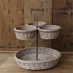 Two-Tiered Basket
