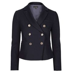 For the Emilio Pucci Navy Double-Breasted Blazer
