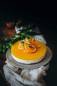 Helppo Appelsiini Juustokakku Keto Recipes, Vegetarian Recipes, Panna Cotta, Cheesecake, Cooking, Sweet, Ethnic Recipes, Desserts, Food