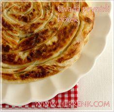 Tavada Peynirli Börek-tavada,fırınsız yapılan börekler,fırınsız tarifler,hazır yufka böreği,tavada pratik börek,kolay börek,tavada pratik tarif,pratik börek,tavada börek,börek sosu,peynirli börek,tava böreği tarifleri,dua,