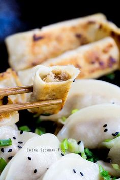 Chinese Cabbage Potstickers