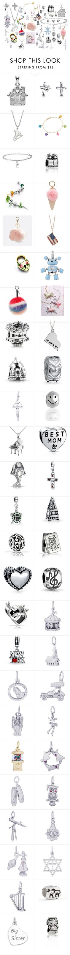 """""""Lilly's 2nd Birthday"""" by airandearth on Polyvore featuring Bling Jewelry, Ross-Simons, Iphoria, Avenue, Sydney Evan, Aaron Basha, Fendi, Pandora, Jan Leslie and Rembrandt Charms"""