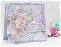 Srebrnolistka - SilverLeaf, Card with flowers