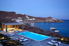 (CREDITS: Tripadvisor)  Ten Holiday Villas With Beautiful Swimming Pools:  Paraga Retreat 1, Mykonos (Found in the south of Mykonos, Paraga Retreat overlooks the islands of Paros and Naxis with views of the Aegean Sea.As well as the infinity pool there is also a mini pool that makes for the perfect relaxation spot. Sleeps eight. From £19,878 per week.)