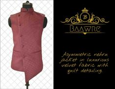Baawre, New Delhi. We offer bespoke clothing, crafted in exclusive designs, that are tailored for your comfort and to reflect your taste. Gq Awards, Bespoke Clothing, Designer Suits For Men, Nehru Jackets, New Launch, Bollywood Fashion, Men's Collection, Jacket Style, Mens Fashion