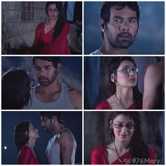 Pragya : What are you looking? Abhi : You look beautiful! Aaawww  #KumkumBhagya #AbhiGya