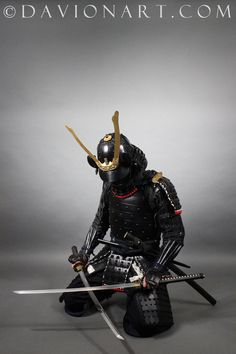 Samurai STOCK III by PhelanDavion.deviantart.com on @DeviantArt