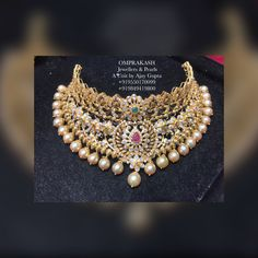 Omprakash Jewellers are one of the best jewelry shops in Hyderabad with vast variety of traditional, bridal & modern gold, diamond and Silver jewellery. Bridal Jewellery, Diamond Jewellery, Bridal Necklace, Gold Mangalsutra Designs, Bollywood Party, Antique Necklace, Neck Piece, Gold Choker, Necklace Designs