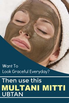 Want To Look Graceful Everyday? Then Use This Multani Mitti Ubtan Multani Mitti Face Pack, Best Diy Face Mask, Lighten Skin, Glowing Skin, Beauty Hacks, That Look, Stress, How To Remove, Things To Come