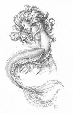 Mermaid drawings, mermaid tattoos, siren tattoo, mermaid sketch, fish d Mermaid Artwork, Mermaid Drawings, Mermaid Tattoos, Mermaid Paintings, Realistic Mermaid Drawing, Mermaid Tattoo Designs, Fantasy Mermaids, Mermaids And Mermen, Real Mermaids